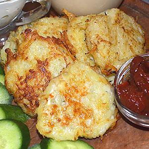 Картофельные котлеты хашбраун - фото