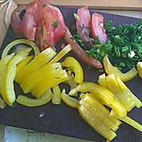 Подготовим овощи - фото
