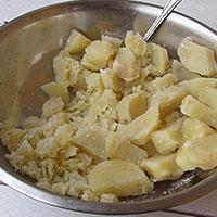 Делаем картофельное пюре - фото