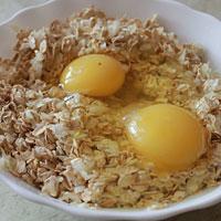 Смешаем с яйцами - фото