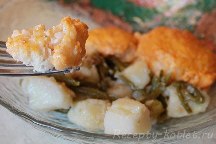 Куриные ёжики с рисом - итоговое фото