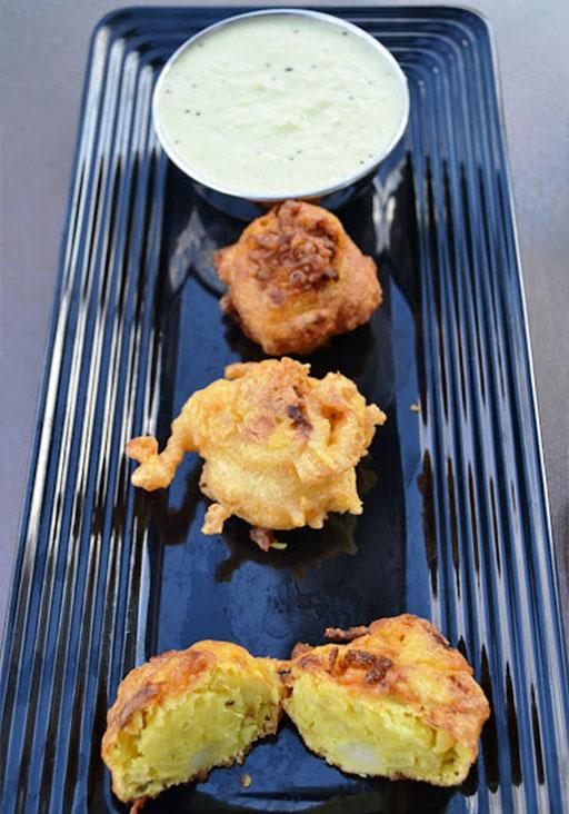 Картофельные котлеты из пюре по-индийски