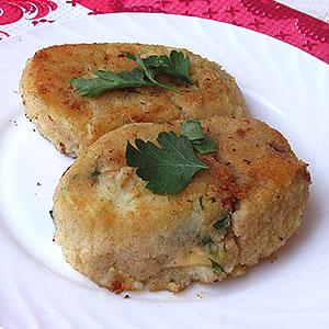Как приготовить картофельные зразы с сыром и ветчиной фото