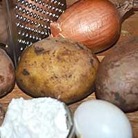 Подготовим все ингредиенты для хашбраун - фото
