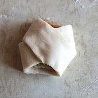 Котлета в сыром тесте - фото