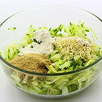 Добавим сухие ингредиенты и белок - фото