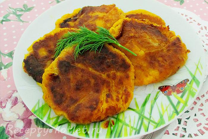 котлеты из картофеля пюре рецепт с фото