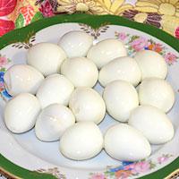 Подготавливаем яйца - фото